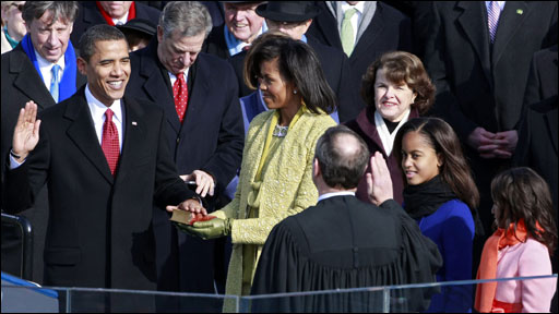 President Obama is the 44th President of the United States of America